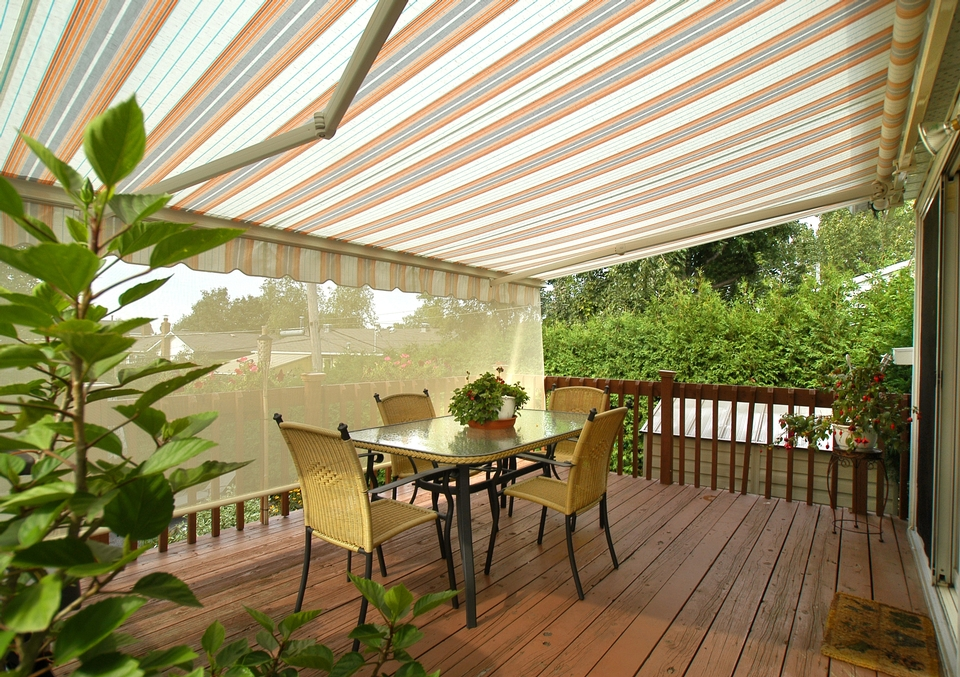 Skybass Heavy Duty Retractable Awning Skybass Inc